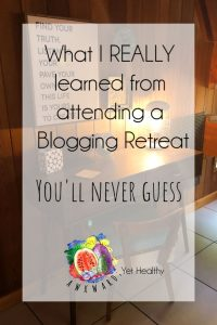 blogging retreat