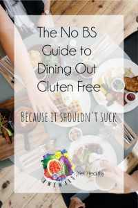 eating out gluten free