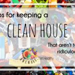 how to keep a clean house